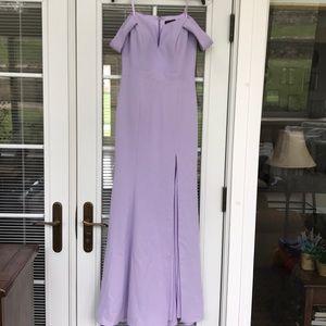 Lavender / lilac purple formal gown